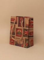 Postage stamps gift bag (Code 3108)